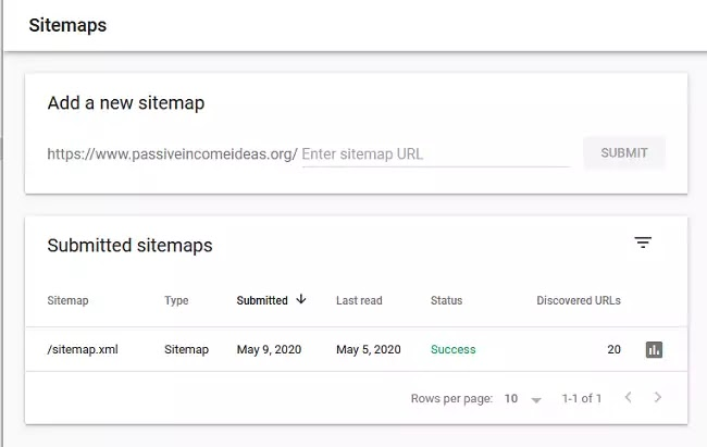 Submit Your Sitemap to Google Webmaster Tools