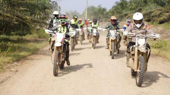 Start dari Lapangan KS Tubun Mapoldasu, Pangdam I/BB Trabas Trail Adventure Bersama Kapoldasu