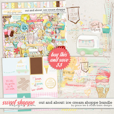 Out and About: Ice Cream Shoppe Bundle
