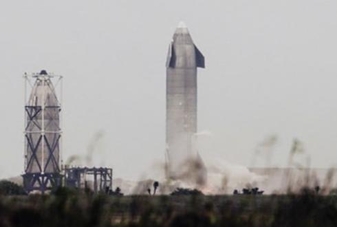 SpaceX divulga vídeo em câmera lenta do teste