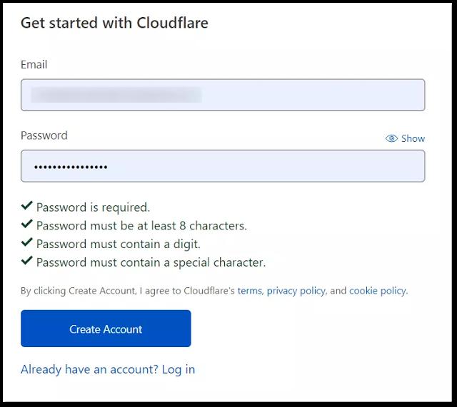 Explain Cloudflare CDN Setup on Blogger Website for Free [2021]