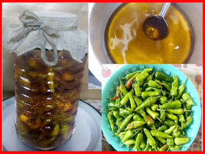 Pakistani Style Lemon And Green Chilli Pickle Recipe