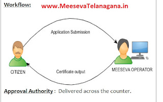 BIRTH CERTIFICATE APPLY MEESEVA - CDMA Application Download
