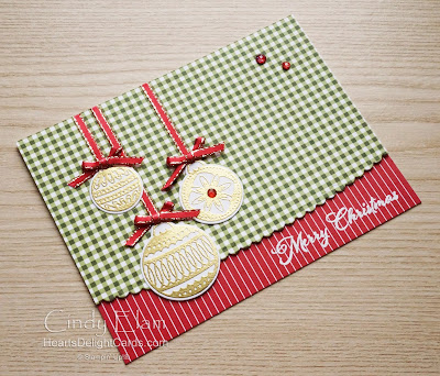 Heart's Delight Cards, Ornamental Envelopes, Envelopes Dies, 2020 Aug-Dec Mini, Stampin' Up!, 12 Days of Christmas in July