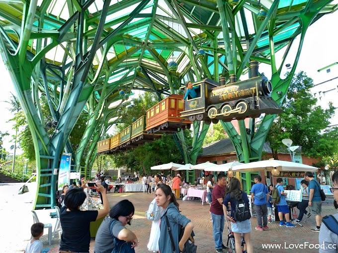 宜蘭市-丟丟噹森林-宜蘭車站旁 吉米的飛天火車裝置-diu diu dang sen lin