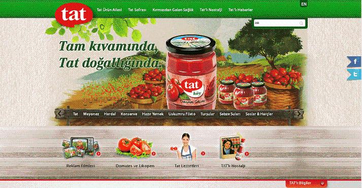 Türkiye'deki domates salçası ve biber salçası üreticileri ve ihracatçıları.-Tat Firması