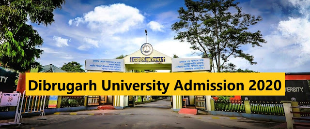 Dibrugarh-University-Admission-2020