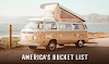 America's Bucket List #infographic