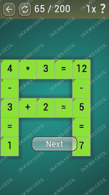 Math Games [Beginner] Level 65 answers, cheats, solution, walkthrough for android