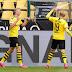 Dortmund golea en regreso del fútbol alemán