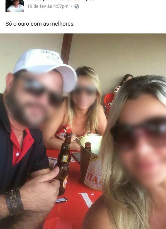 Foi provocar a ex postando foto com duas mulheres no bar, a ex apareceu lá e o pau comeu
