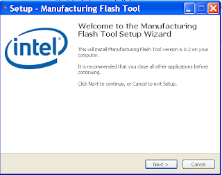 Intel Manufacturing Flash Tool Version V 6.0.43 Free Download