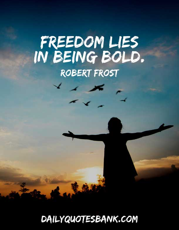 Short American Quotes About Freedom