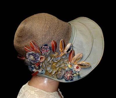 kapelusz vintage lata 20/30