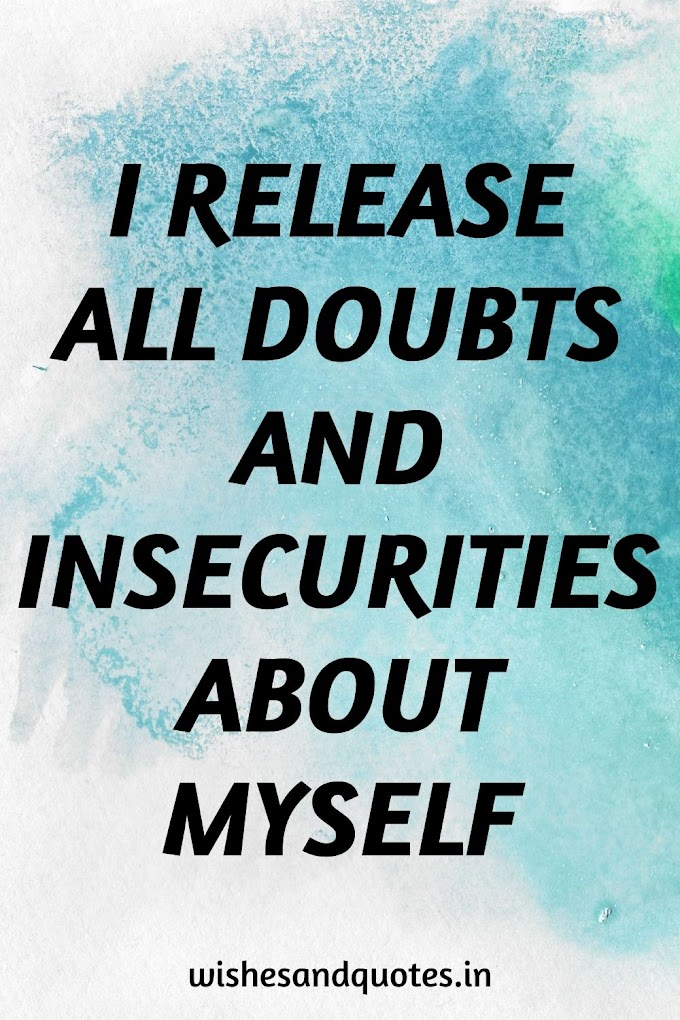 Positive Affirmations for Anxiety to restore peace within you