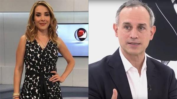 Periodista reta a López Gatell a probar que padres de hijos con cáncer son golpistas