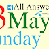Telenor Quiz Today   23 May 2021   My Telenor App Today Questions and Answers   Test your Skills
