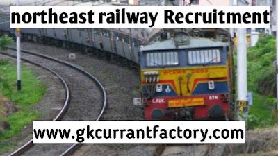 NorthEast forntier Railway Recruitment