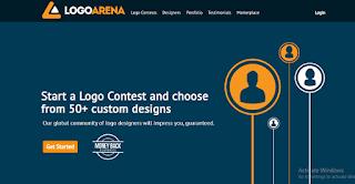 Logo arena kontes desain