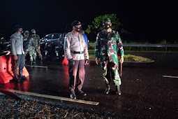 TNI-POLRI Bersinergi Amankan Ibadah Menyambut Paskah di Boven Digoel