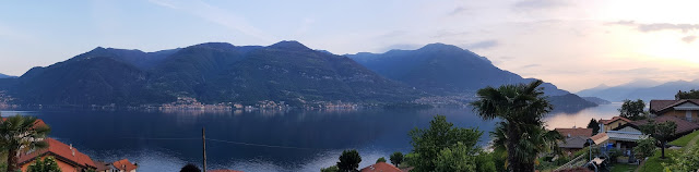 Lake Como from Lezzano