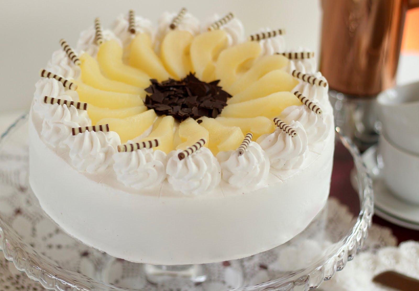 Traumhafte Birne-Helene-Torte | Torte mit Birnen und Schokolade | Rezept und Video von Sugarprincess