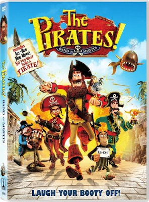 The Pirates! Band of Misfits [2012] [DVD R2] [Castellano]