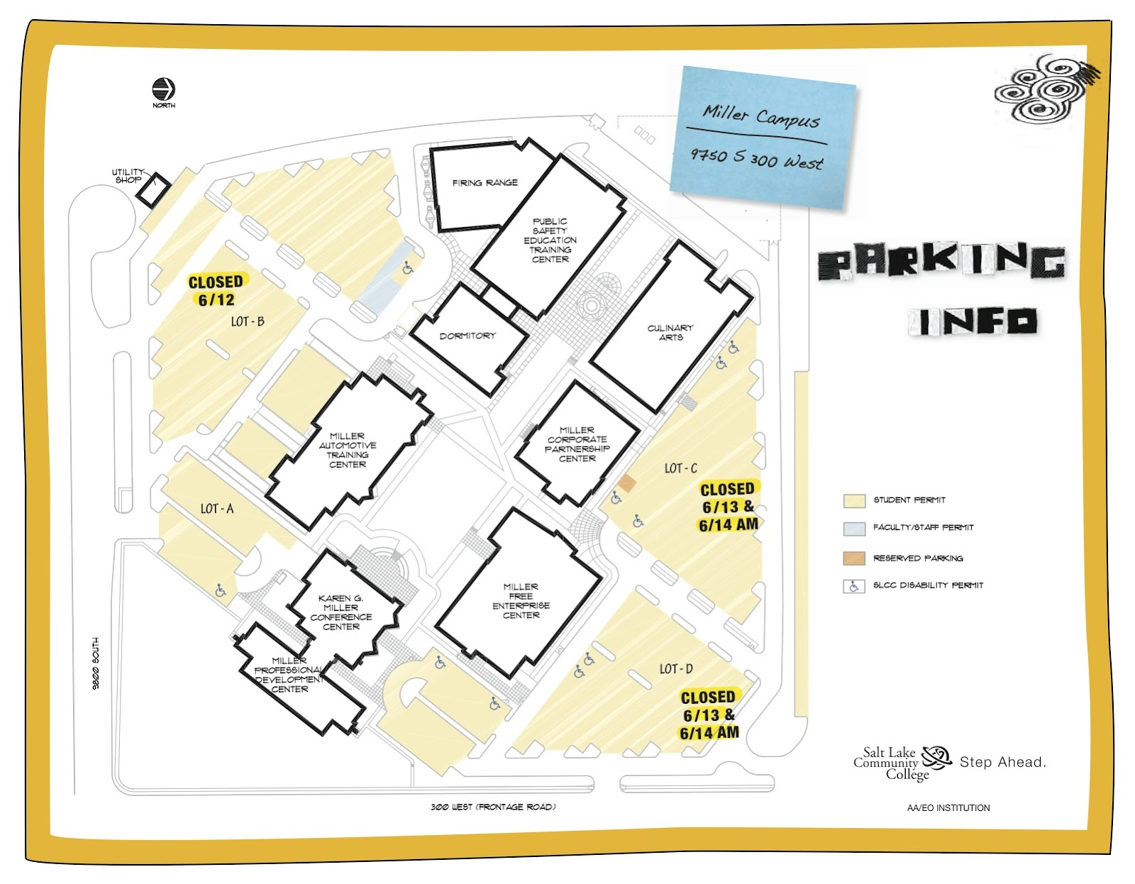 Slcc Jordan Campus Map | compressportnederland