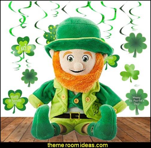 Leprechaun Plush Toy St. Patrick's Gifts  catch the leprechaun on st. Patricks day