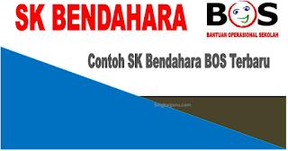 Contoh SK Bendahara BOS Kemdikbud Terbaru Tahun 2020