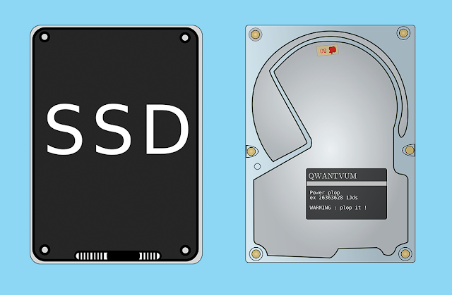 perbedaan SSD dan HDD