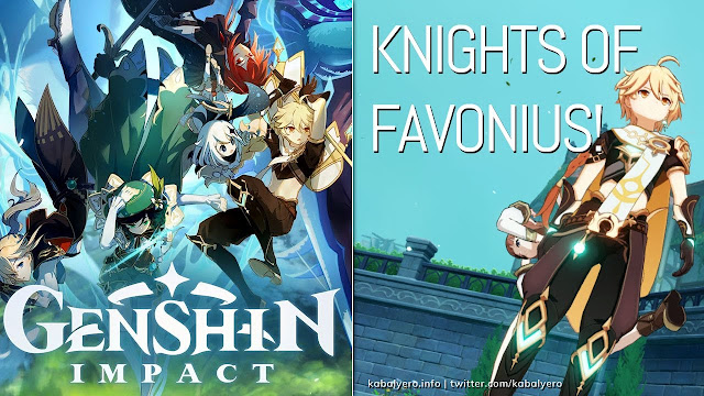 Knights of Favonius! Wind of the Past! 🌟 Genshin Impact Gameplay PC 2020 🌟