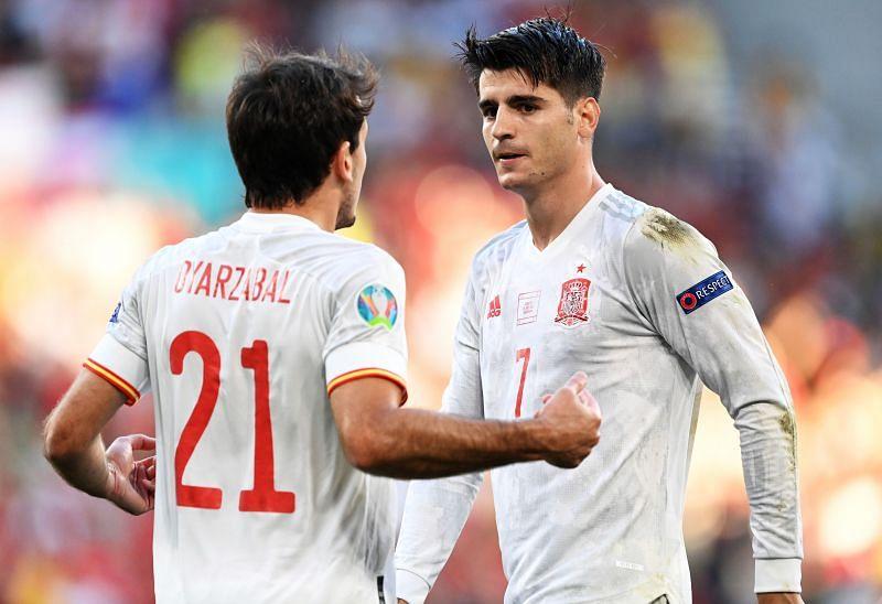 مباراة سويسرا وإسبانيا اليوم
