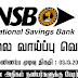 Vacancy In National Savings Bank
