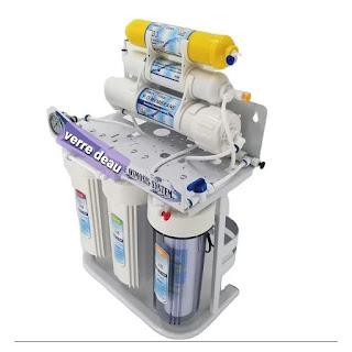 Filtre d'eau Osmose inverse 7 étapes