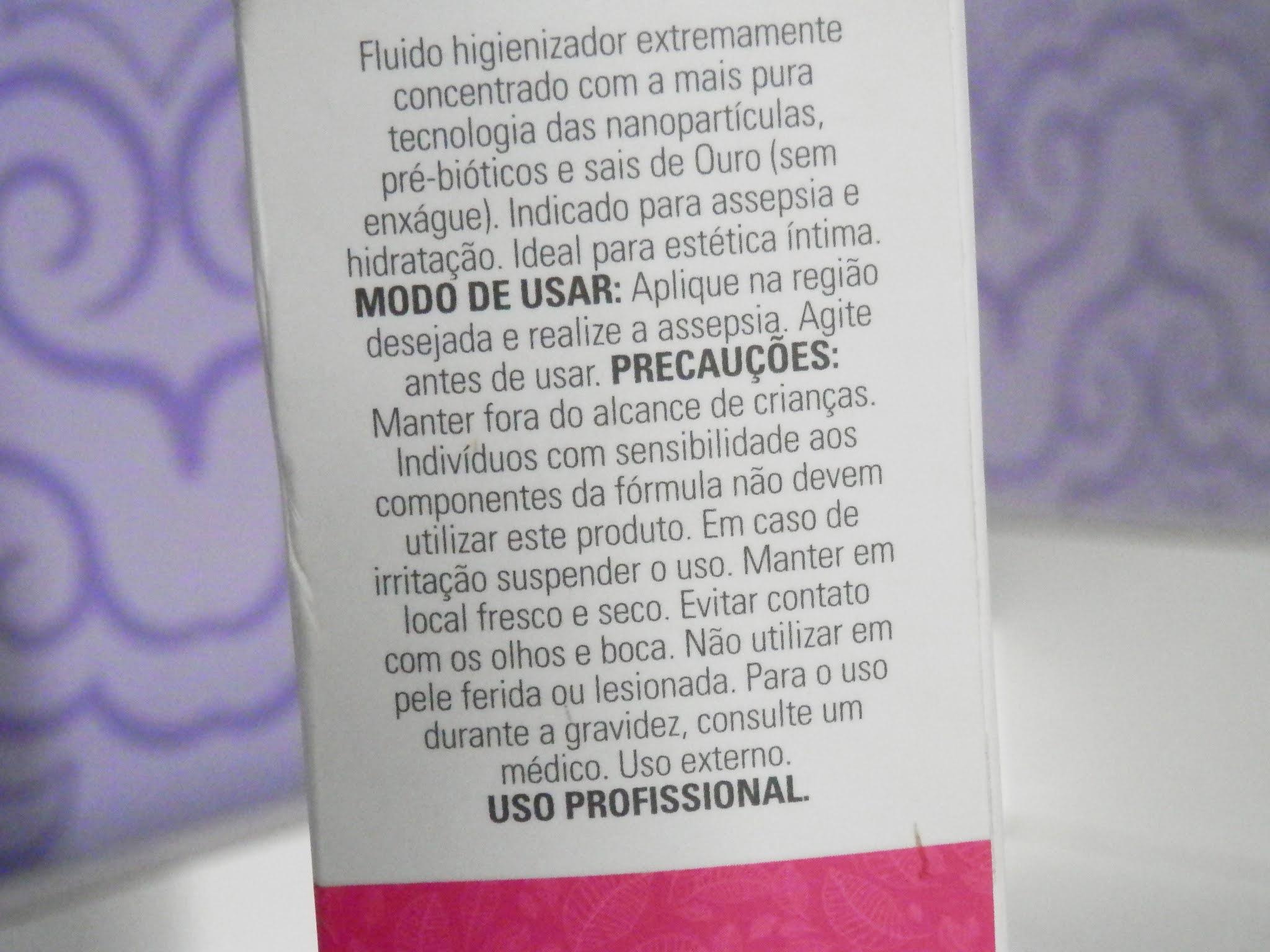 Resenha: Nano Renew Femme Fluid - Fluído higienizador feminino extremamente concentrado