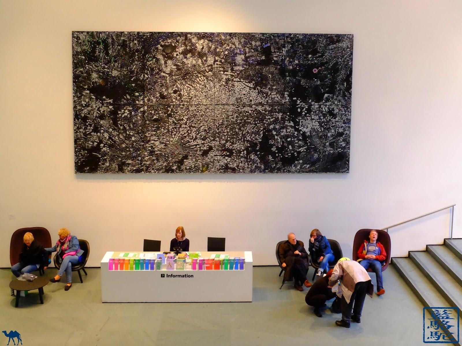 Le Chameau Bleu - New York - Oeuvre  du MoMa