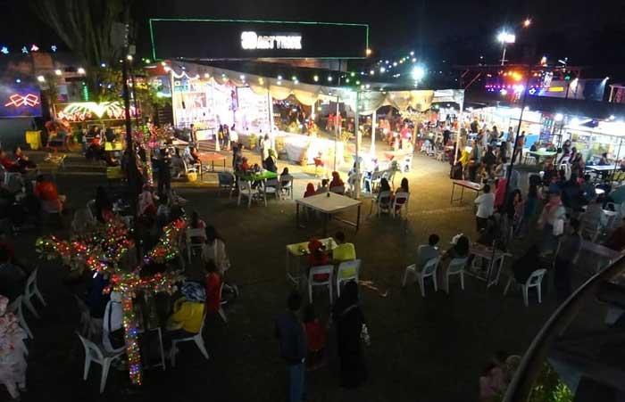 Tempat Wisata Malam Pasar Parkiran