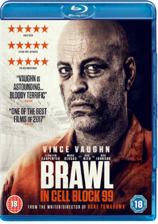 Brawl In Cell Block 99 2017 BRRip 350MB English 480p