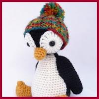 Otro pinguinito amigurumi