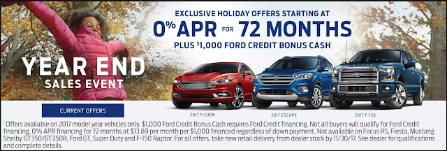 2017 Black Friday Event at O'Meara Ford