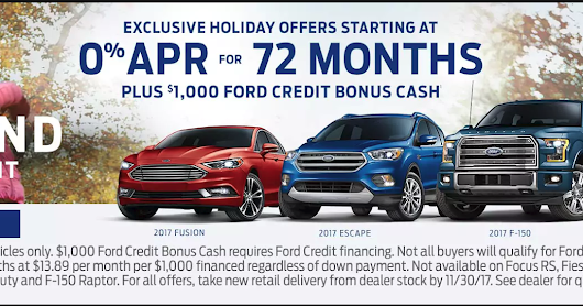 Black Friday Event at O'Meara Ford