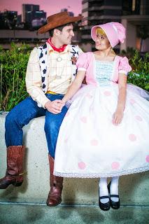 Disfraz parejas Toy Story