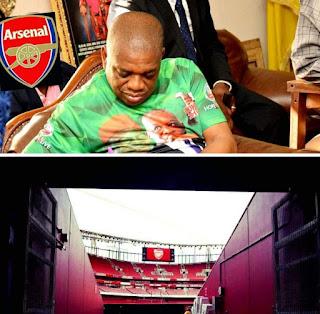 Orji Uzor Kalu discloses plan to buy Arsenal f.c