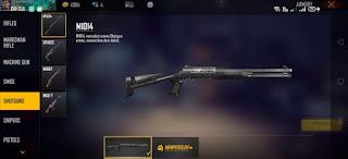 Senjata FreeFire Teresakit