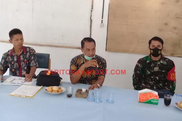 Camat Awang Gelar Rapat Terkait Pelaksanaan Pembangunan di Desa Pianggu