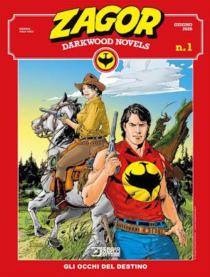 Zagor darkwood novels 1: Gli occhi del destino