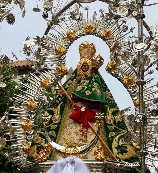 Horario e Itinerario Procesión Gloriosa de la Santísima Virgen de la Cabeza. Córdoba 05 de Mayo del 2019