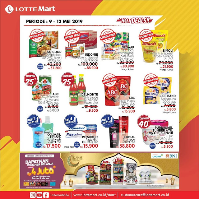 #LotteMart - #Promo #Katalog JSM Periode 09 - 12 Mei 2019