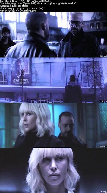 Atomic Blonde 2017 HDTS English